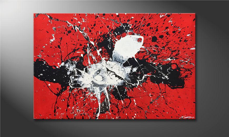 De schilderij The Big Bang 120x80