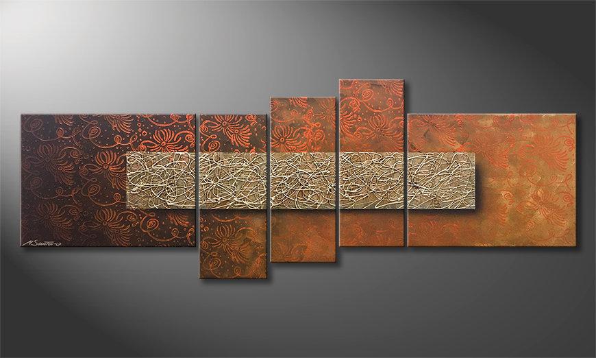 Het aardige schilderij Pacific Dream 160x60x2cm