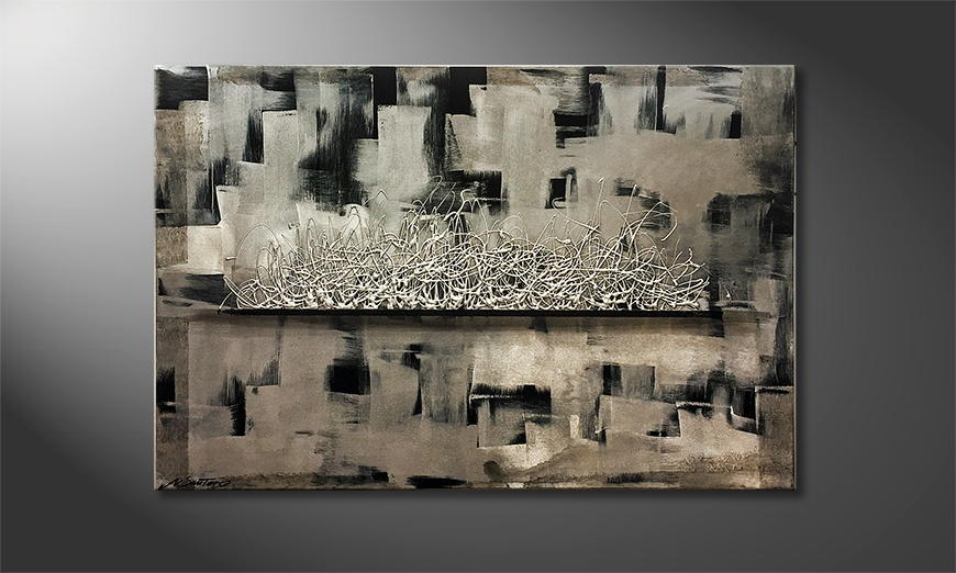 Het canvas Forgotten Time 120x80x2cm