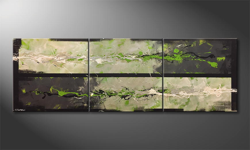 Het canvas Nature Force 240x80cm