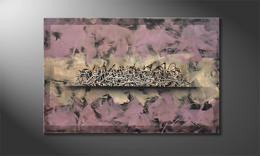 Het canvas Phenomenon 120x80x2cm