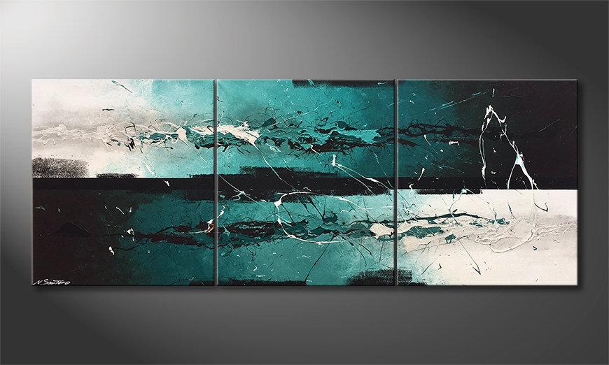 Het canvas Refreshness 180x70x2cm