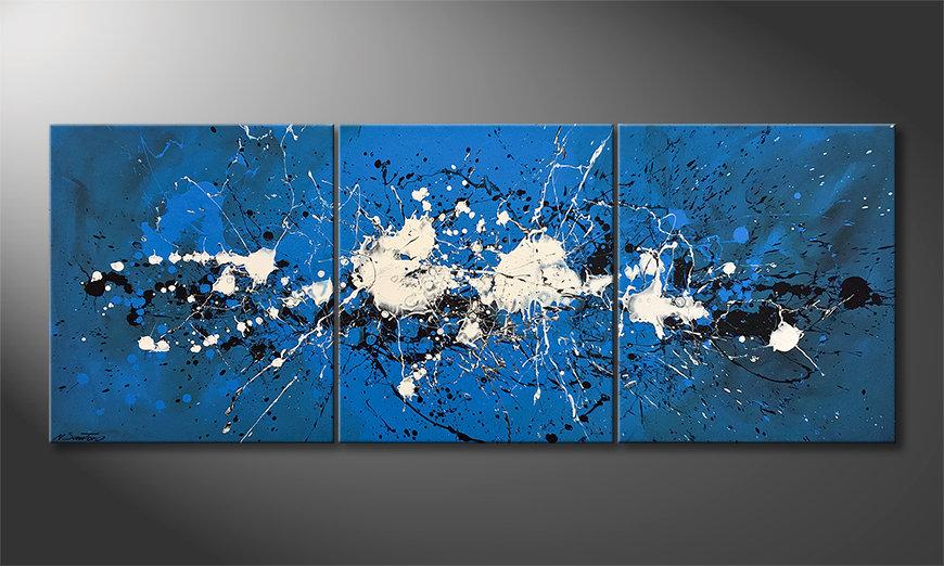 Het canvas Water Spectacle 180x70x2cm