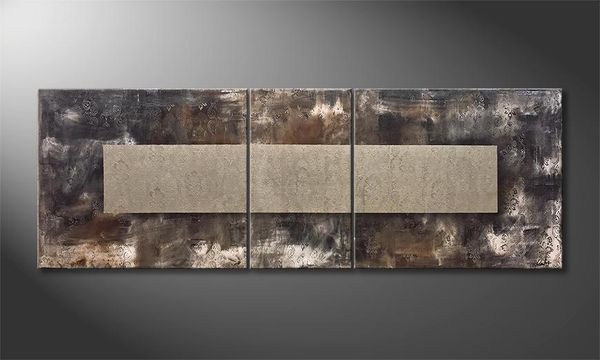Het moderne beeld Lose Oneself 200x70x2cm