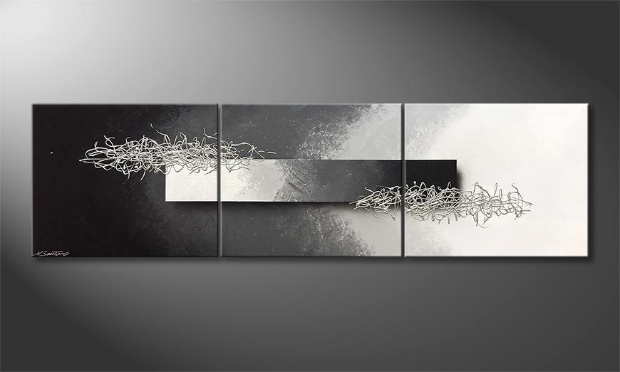 Moderne wall art Among Contrast 210x60x2cm