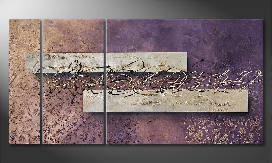 Moderne wall art Eternity 160x80x2cm