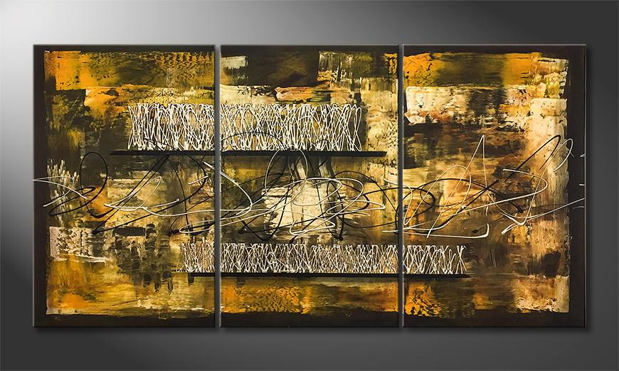 Moderne wall art Happy Africa 150x80x2cm