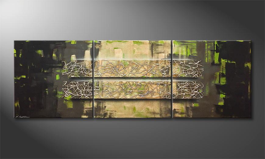 Moderne wall art Jungle Force 210x70x2cm