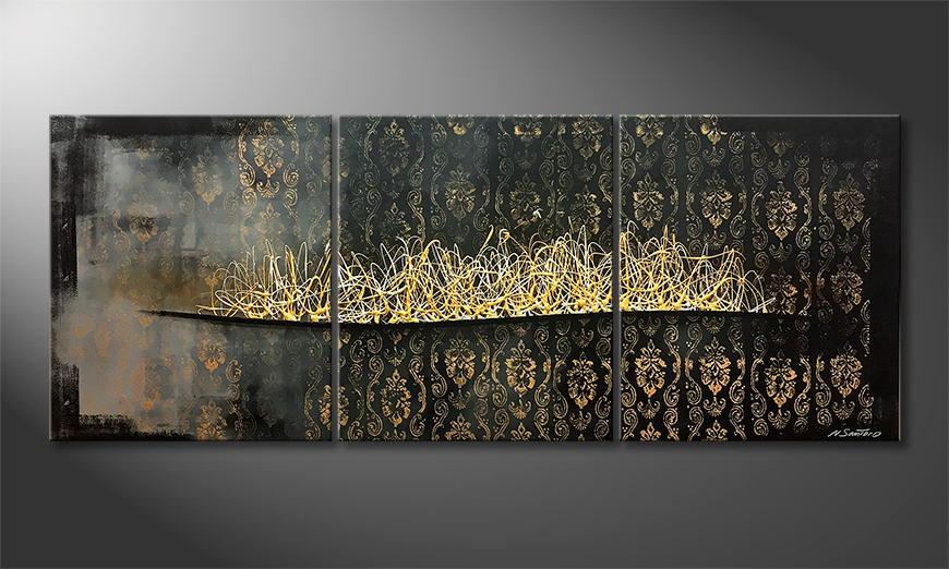 Moderne wall art Mystery Times 180x70x2cm