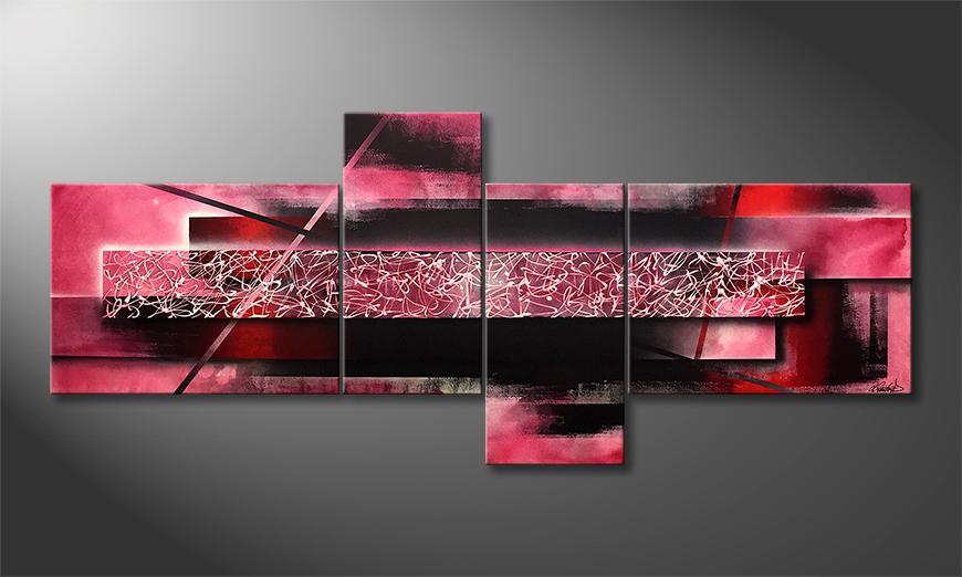 Moderne wall art New Roads 240x100x2cm