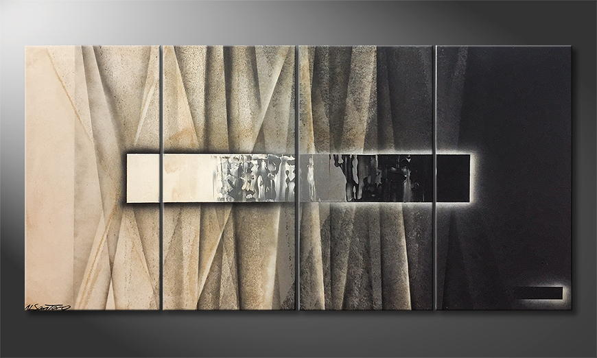 Moderne wall art On Stage 160x80x2cm