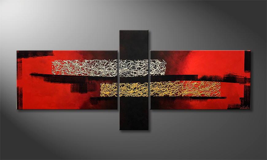 Moderne wall art Rich 230x110x2cm