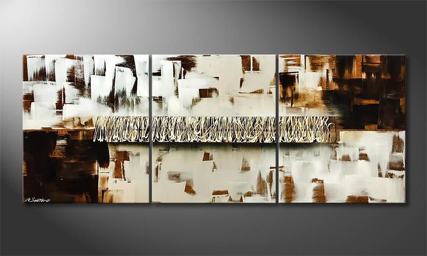 Moderne wall art United 180x70x2cm