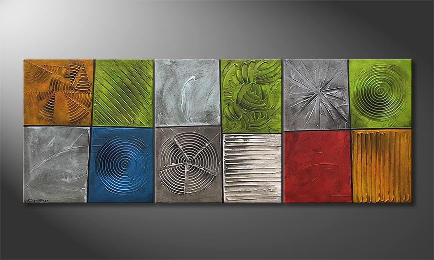 Onze schilderij All Natural 180x80x2cm