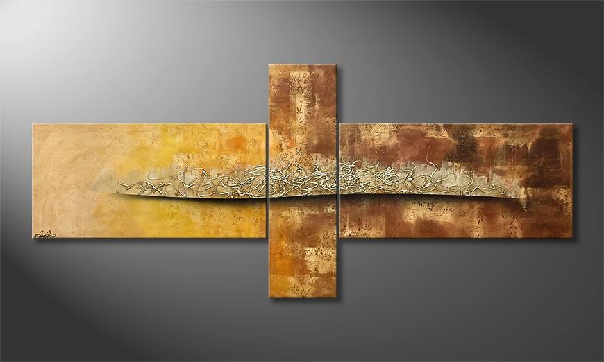 Onze schilderij Desert Spring 230x100x2cm