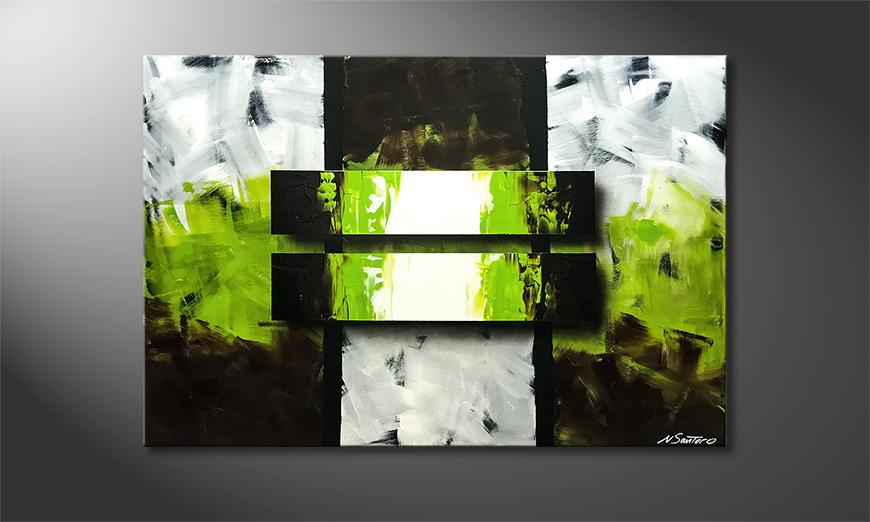 Woonkamer schilderij Fresh Moment 120x80x2cm