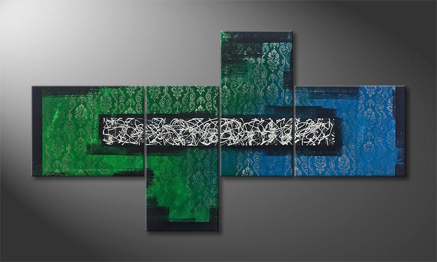 Woonkamer schilderij Future And Past 200x110x2cm