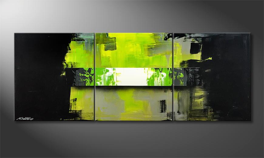 Woonkamer schilderij Last Hope 150x70x2cm