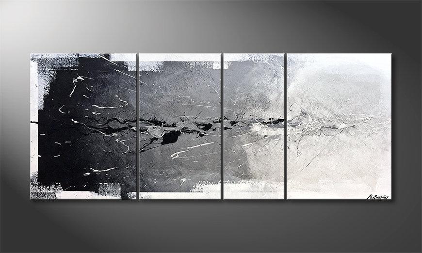 Woonkamer schilderij Pure Splash 170x70x2cm